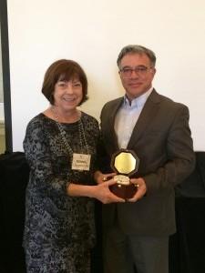 Bonnie Longenecker and Dennis Woll